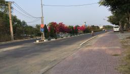 Bán 960 m2 đất mặt tiền đường Duyên Hải, xã Long Hoà, gần Biển Cần Giờ, giá 22 triệu / m2.
