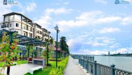 The Pearl Riverside - nhà phố ven sông Vàm Cỏ Đông khu compound an ninh giá chỉ bằng một nửa Tp.HCM