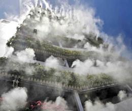 Giải pháp hạ nhiệt hiệu quả của tòa nhà ở Trung Quốc