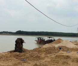 Giá cát xây dựng tiếp tục tăng mạnh