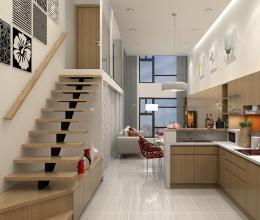 Những thiết kế gác lửng siêu tiện lợi cho căn hộ nhỏ