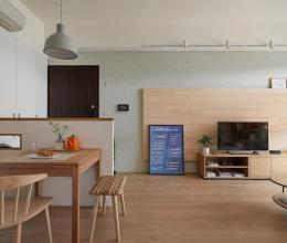 Cách trang trí tối giản nhưng thân thiện của căn hộ 80m2