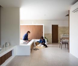 Ngôi nhà 2 tầng đơn giản và tinh tế ở Nhật
