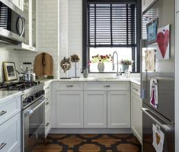 Mẹo thiết kế để phòng bếp vẫn sống khoẻ dù diện tích chỉ vỏn vẹn 5m2