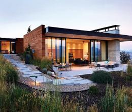 Ngôi nhà hiện đại giữa thiên nhiên hùng vĩ