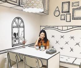 Quán cafe độc đáo như trong truyện tranh ở Hàn Quốc