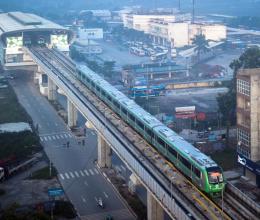Đường sắt trên cao lăn bánh, bất động sản Hà Đông hưởng lợi