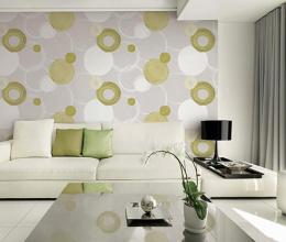 Dùng giấy hoặc vải dán có thay thế được sơn tường không