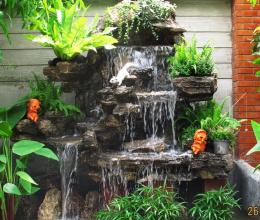 Phong thủy bài trí tiểu cảnh sân vườn