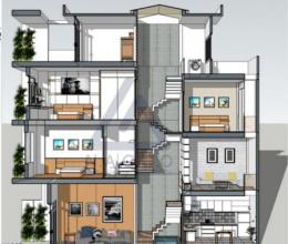 Phong thủy trong kiến trúc nhà lệch tầng và cách hóa giải