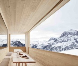 Trầm trồ ngắm 15 kiến trúc nhà ở nằm vắt vẻo trên vách núi