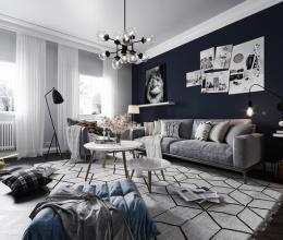 Tư vấn thiết kế căn hộ trẻ trung, hiện đại theo phong cách Bắc Âu