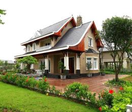 Thiết kế biệt thự nhà vườn đẹp cần đảm bảo những tiêu chí nào