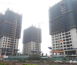 Sau Tết, nhiều công trường dự án tại Hà Nội vẫn cửa đóng then cài