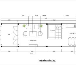 Tư vấn thiết kế nội thất cho ngôi nhà ống 48m2 trong hẻm
