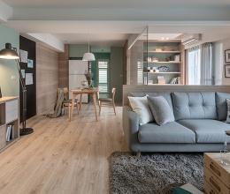 Cải tạo căn hộ 40 tuổi thành không gian sống hiện đại, gần gũi