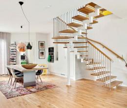 Căn hộ 2 tầng đẹp tinh tế và cuốn hút với phong cách thiết kế độc đáo