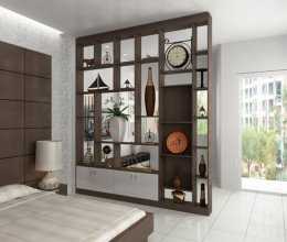 Ứng dụng vách ngăn trong thiết kế nhà ở hiện đại