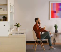 Hệ thống nội thất cực thông minh giúp tăng tiện ích cho nhà nhỏ