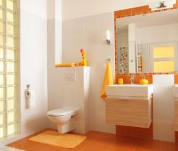 Thiết kế phòng tắm đáng yêu khiến bé mê tít