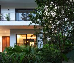 Khoảng trống đặc biệt trong căn biệt thự 2,5 tầng ở ngoại thành Hà Nội