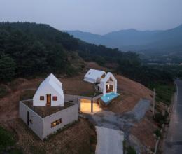 Vẻ đẹp hiện đại của ngôi nhà ẩn mình dưới lớp áo thiên nhiên