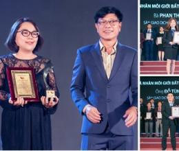 Lần đầu tiên sàn giao dịch BĐS Việt đoạt giải quốc tế - Họ là ai