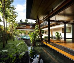 Thăm ngôi nhà xanh mát như vườn bách thảo thu nhỏ ở Singapore