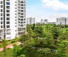 Ấn tượng căn hộ thực tế tòa Rosa Hồng Hà Eco City