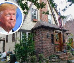 Ngôi nhà tuổi thơ của ông Trump lại được bán đấu giá