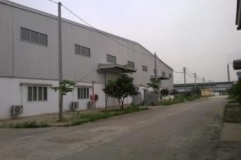 Cho thuê kho xưởng KCN Song Khê Nội Hoàn - Bắc Giang, DT 1300m, 3500m2, 5500m cty Long Giang