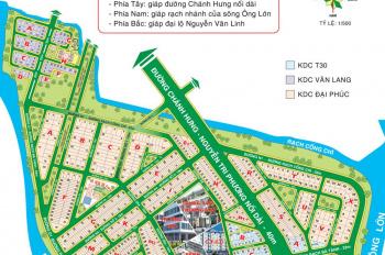 Bán đất biệt thự Đại Phúc Green Villas, Phạm Hùng, DT 10x25,5m, giá 36,5tr/m2, còn 1 nền duy nhất