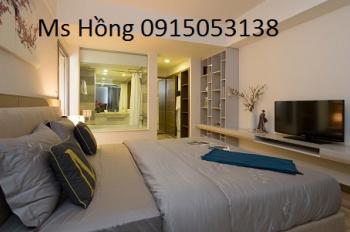 Cho thuê căn hộ cao ốc BMC, quận 1, 3 phòng ngủ nội thất Châu Âu, giá 16 triệu/tháng