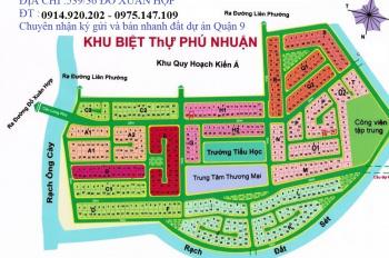 Bán đất nền giá rẻ dự án tại KDC Phú Nhuận - Phước Long B, Q9. Nhận ký gửi bán đất dự án Phú Nhuận