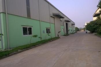 Cho thuê kho xưởng công ty Nam Khải, km12 Quốc lộ 2, thị xã Phúc Yên, Vĩnh Phúc 1.000m2 và 3500m2