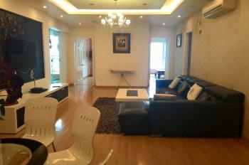 Cho thuê chung cư N05 căn góc tầng 22, 155m2, 3 PN, đủ nội thất 18 triệu/tháng. LHTT: 0936105216