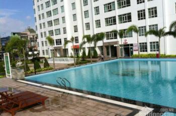Cho thuê căn hộ Giai Việt, 3PN 150m2 có nội thất, giá 14.5 triệu/tháng