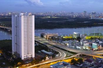 Cho thuê căn hộ 90 Nguyễn Hữu Cảnh 1PN 12tr/th, nhà có đầy đủ nội thất, LH: 0906.910.626 view sông