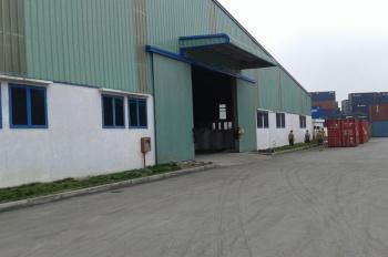 Cho thuê kho xưởng Lô 3A KCN Kim Thành - Hải Dương dt: 2000, 5000m2 của công ty CP Phú Bài