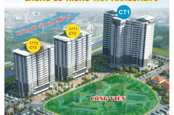 Vinaconex 3 mở bán trực tiếp kiot thương mại CT1 Trung Văn. Hot 0914 102 166