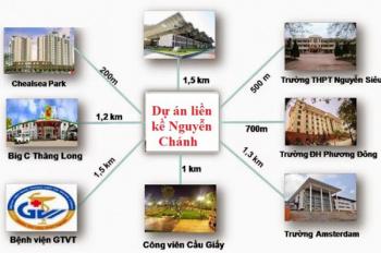 Bán liền kề A10 - B4 Nam Trung Yên giá tốt nhất Hà Nội. LH 0982 917 880