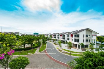 Bán gấp biệt thự song lập KĐT Gamuda: 202 m2 đất - 3 tầng - 300m2 xây dựng
