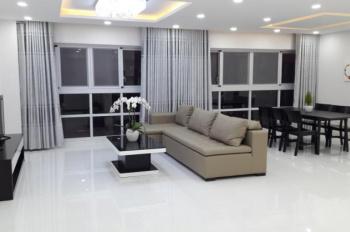 Cho thuê căn hộ Hoàng Anh 3 DT 126m2 có 3PN view hồ bơi, giá 13 tr/th, nội thất đẹp, cal 0977771919