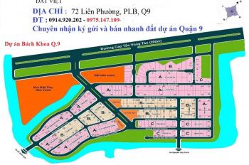 Bán đất nền dự án tại KDC Đại Học Bách Khoa, Phú Hữu, Quận 9, đã có sổ đỏ. LH 0914920202