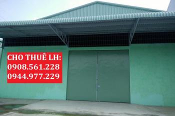Nhà xưởng 500m2 mới xây dựng xong, đường Lê Văn Khương, Quận 12, giá 30tr/tháng, LH: 0908.561.228