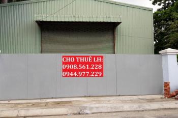 Cho thuê nhà xưởng 450m2 gần Ngã Tư Ga, Quân 12, giá 15tr/tháng. LH: 0937.388.709