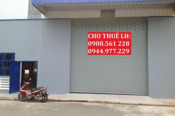 Nhà xưởng phường Hiệp Thành, Quận 12, cho thuê DT: 1700m2, giá 60tr/tháng. LH: 0944.977.229