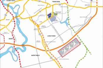 Bán đất đối diện khu công nghiệp Giang Điền, liền kề khu dân cư Sonadezi, giá CĐT: 0908434814