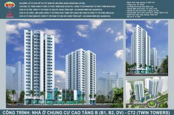 HUD mở bán kiot thương mại tòa tháp đôi B1B2-CT2 và A1CT2, dự án Tây Nam Hồ Linh Đàm