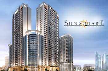 Cho thuê văn phòng dự án Sun Square mặt đường Lê Đức Thọ giá 222.65 nghìn/m2/tháng